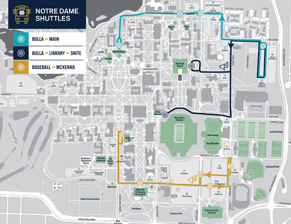 Campus Shuttle Map