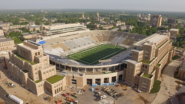 Historic project at Notre Dame nearing completion