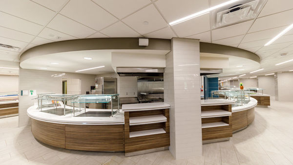 Renovated North Dining Hall Reopens