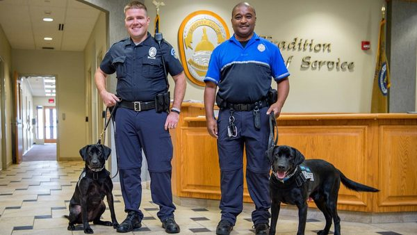Notre Dame adds K-9 pair to security police team