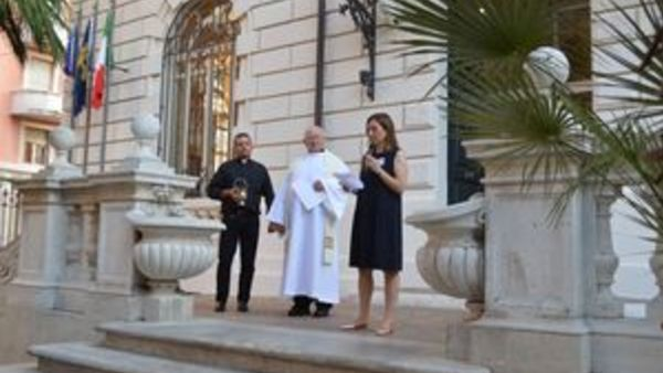 Opening and Blessing of the Villa in Rome