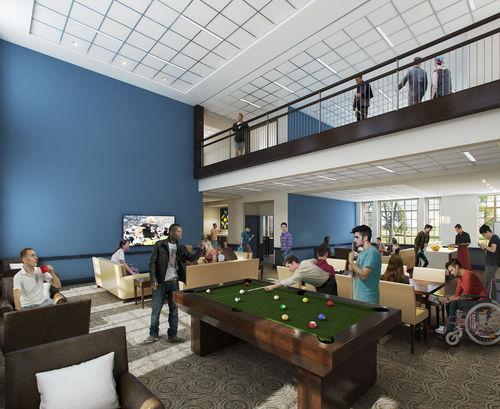 Construction Begins On New Men S Residence Hall News
