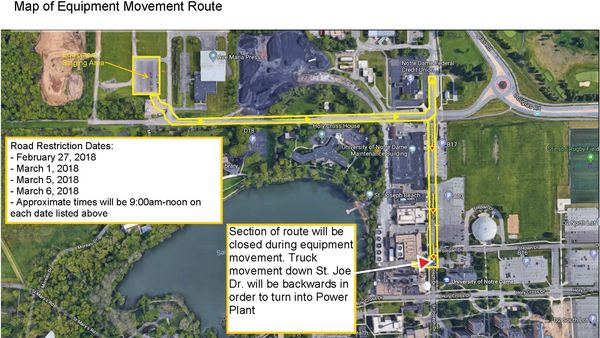 Power Plant expansion impacts road accessibility