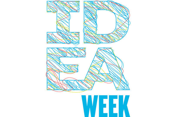 Ideaweek Full Blue Outline Feature
