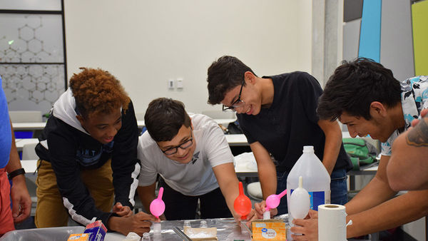 Upward Bound Students Discover Energy at Notre Dame