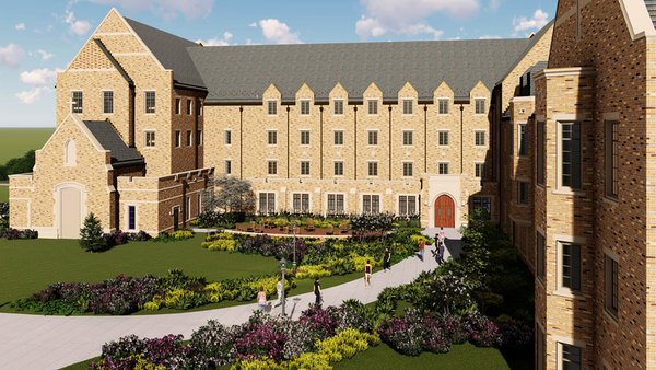 Women's four-story residence hall