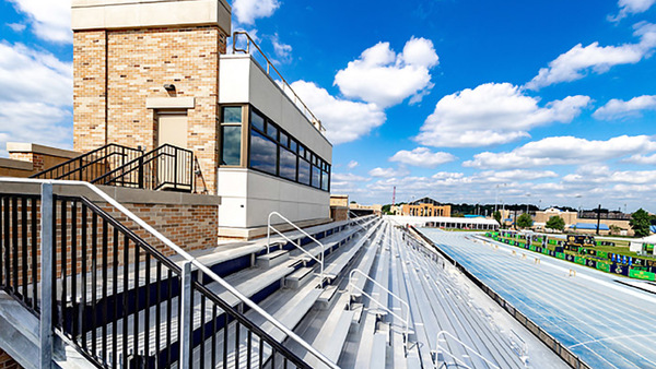Harris Family Track & Field Stadium earns LEED Silver