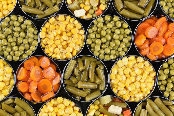 Canned Vegetables Web